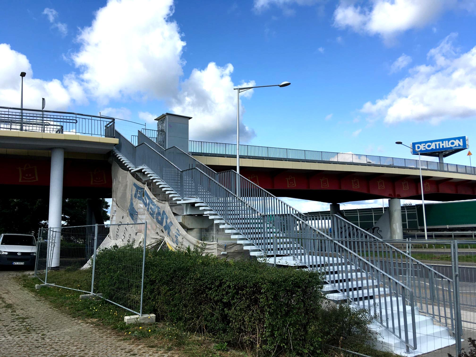 Arpro remont wiaduktu i schodow